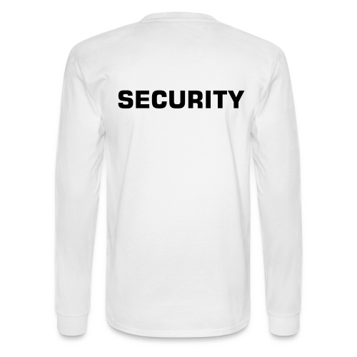Security - Men's Long Sleeve T-Shirt