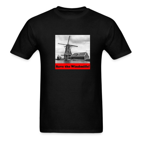 Save the Windmills - Men's T-Shirt