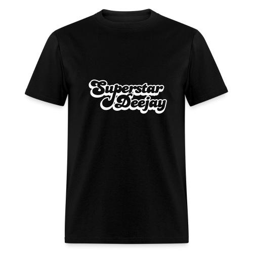 super star dj - Men's T-Shirt