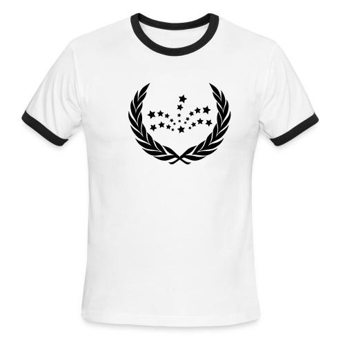 Shootin' Stars Ringer - Men's Ringer T-Shirt
