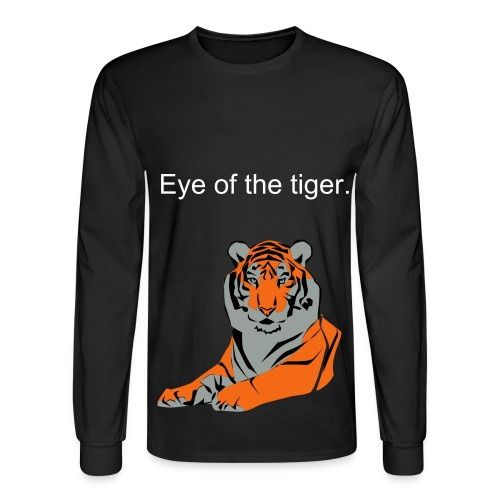 Eye of the Tiger - Men's Long Sleeve T-Shirt