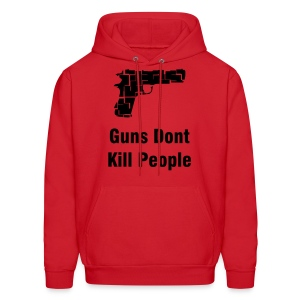 Guns Dont Kill People - Men's Hoodie