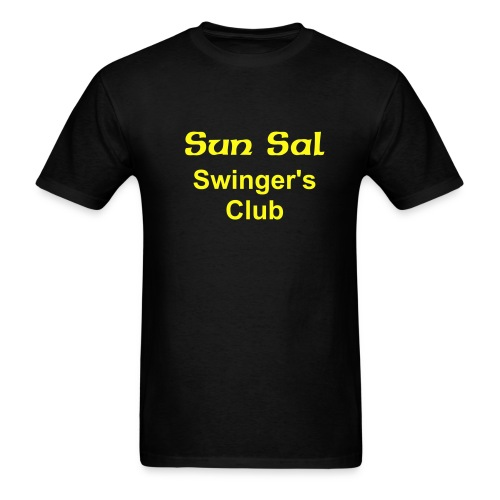 swing on - Men's T-Shirt