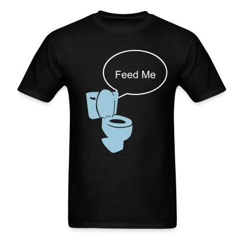 Hungry Toliet - Men's T-Shirt