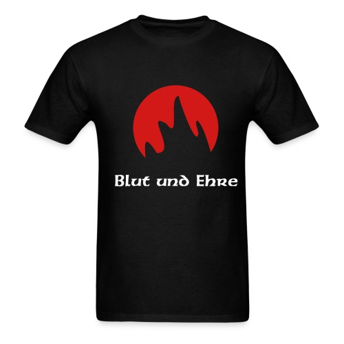 Adult Shirt Blood and Fire - Men's T-Shirt