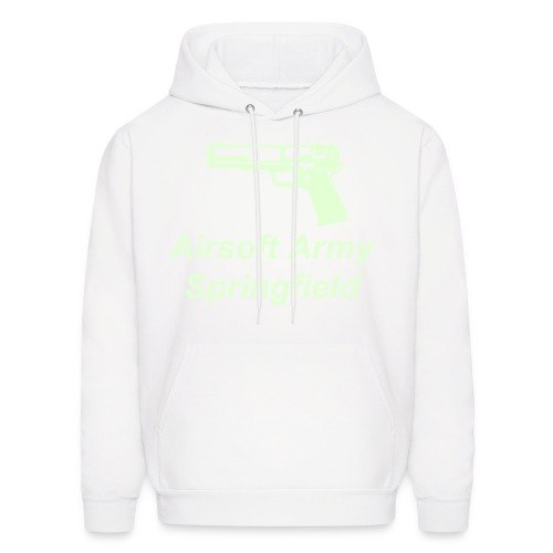 White Hooded Sweatshirt - Men's Hoodie