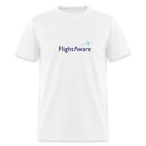FlightAware Logo Tee - Men's T-Shirt