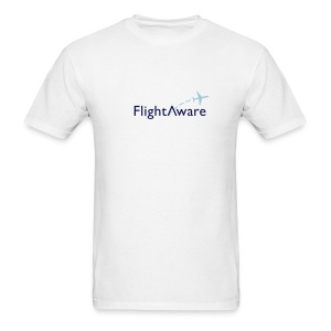 FlightAware Logo Tee - Men's T-Shirt
