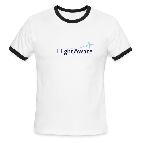 FlightAware Ringer Tee - Men's Ringer T-Shirt