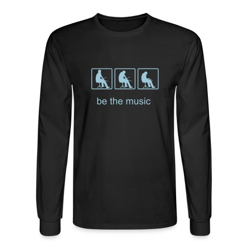 Be the Music long sleeve t-shirt - Men's Long Sleeve T-Shirt
