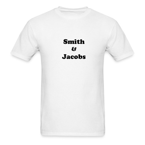 Smith & Jacobs Value White T-Shirt - Men's T-Shirt