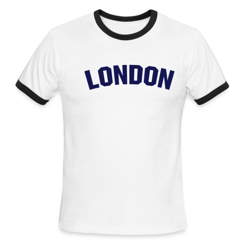 London Men's Ringer T-shirt - Men's Ringer T-Shirt