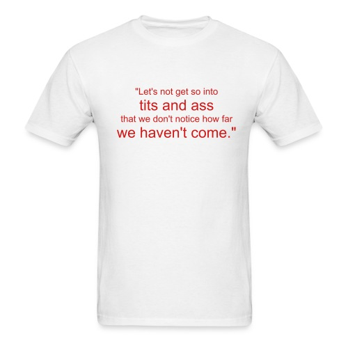 21st Century Woman - White - Men's T-Shirt