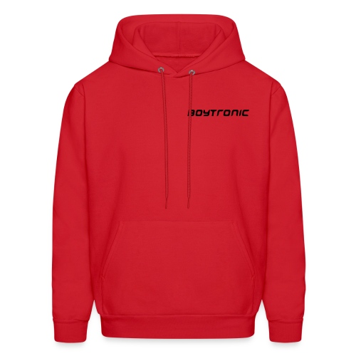 HOODED SWEAT Boytronic red/blk - Men's Hoodie