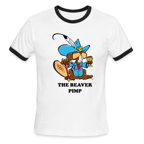 Beaver Pimp - Men's Ringer T-Shirt