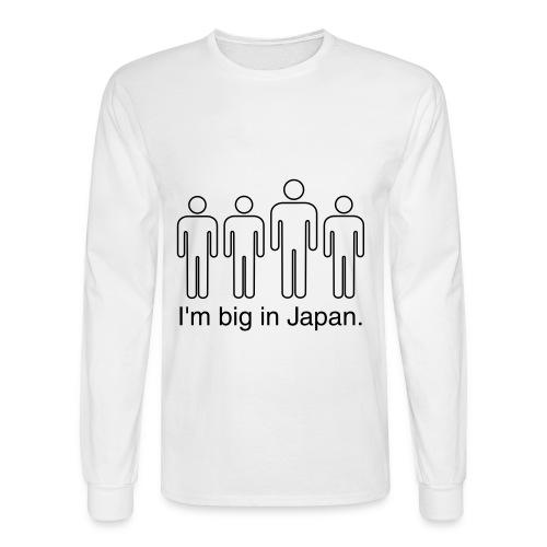Big in japan shirt - Men's Long Sleeve T-Shirt