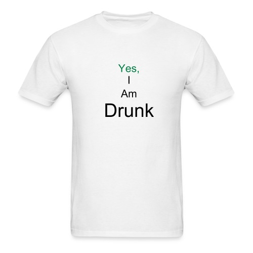 iam drunk - Men's T-Shirt