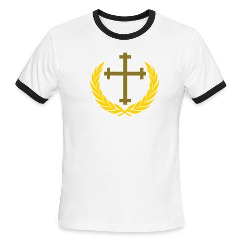 Christian T-Shirt: King - Men's Ringer T-Shirt