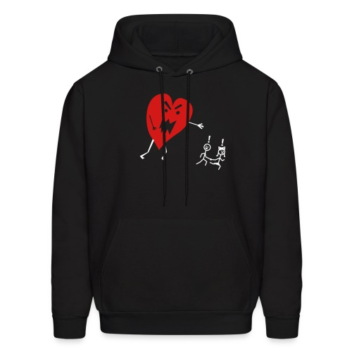 heart will chase - Men's Hoodie