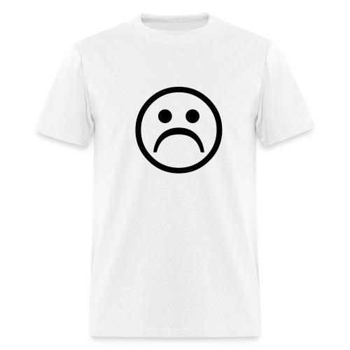 Frowny Face - Men's T-Shirt