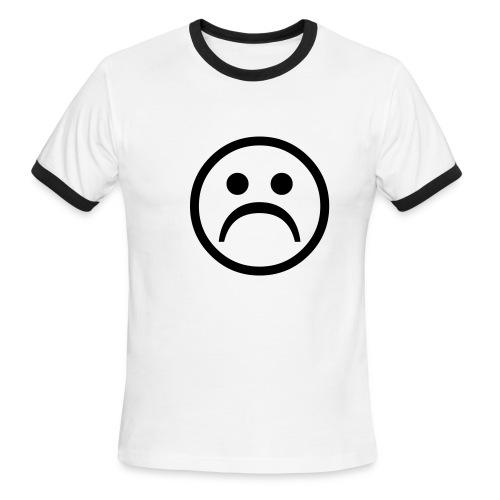 Frowny Face - Men's Ringer T-Shirt