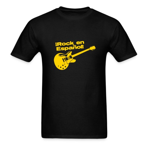 rock español01 - Men's T-Shirt