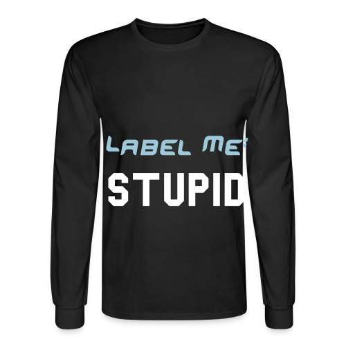 Label Me: - Men's Long Sleeve T-Shirt