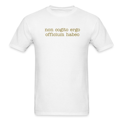 Bad attitude - in Latin - Men's T-Shirt