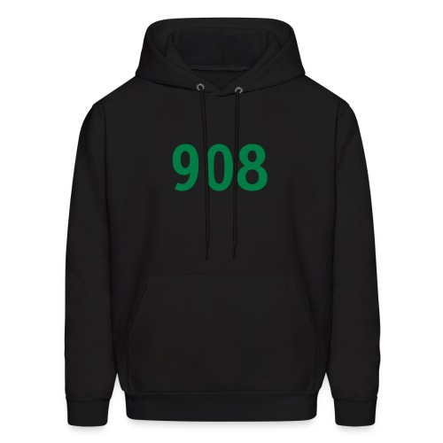 Customize to Rep Your Hood- New Jersey (Guy's Black and Green) - Men's Hoodie