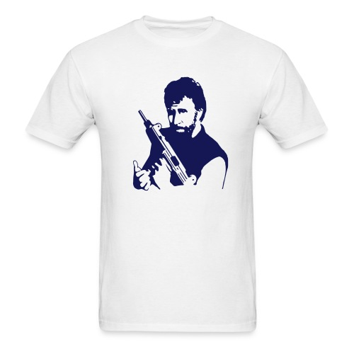 chuck norris, bitch! - Men's T-Shirt