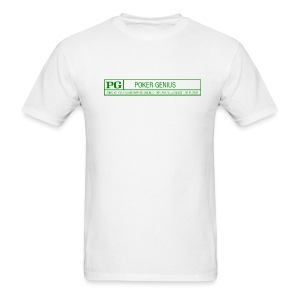 Rated PG - Poker Genius T shirt - Men's T-Shirt