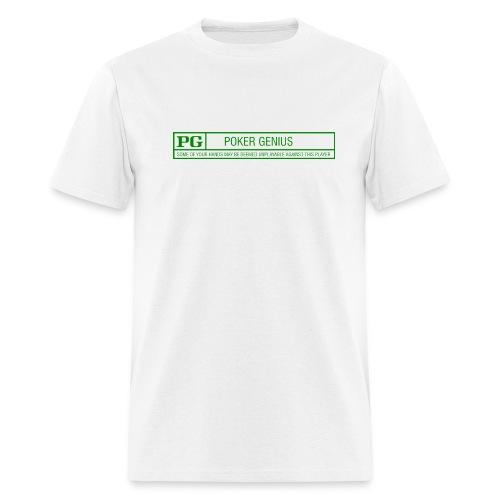 Rated PG - Poker Genius T shirt - Men's T-Shirt