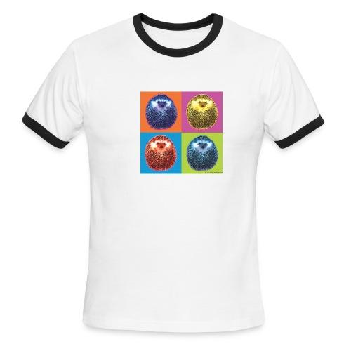 Men's Ringer T-Shirt - Hérisson Pop hedgehog
