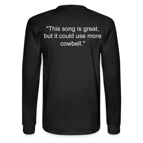Cowbell - Men's Long Sleeve T-Shirt