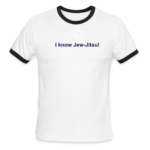 Jew-Jitsu - Men's Ringer T-Shirt