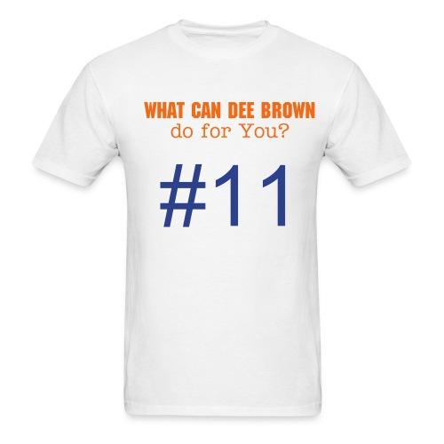 Dee Brown Shirts - Men's T-Shirt