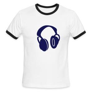 Stop Screaming Moron Ringer T - Men's Ringer T-Shirt
