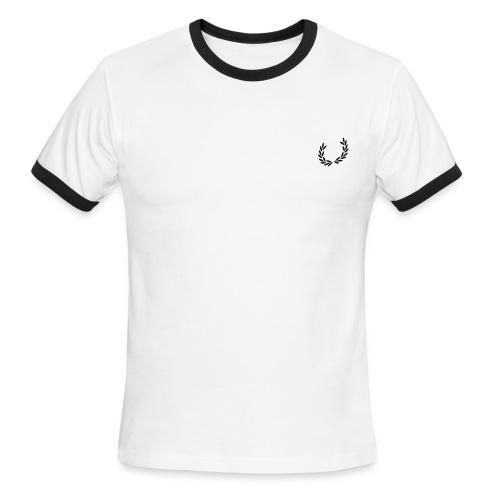 Wreath - Men's Ringer T-Shirt