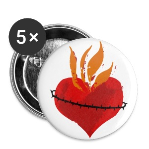 Sacred Heart of Jesus Buttons!!! - Small Buttons