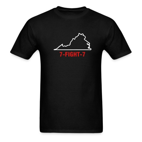 7-FIGHT-7 - Men's T-Shirt