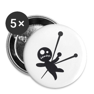 Voodoo Dollie Pins - Small Buttons