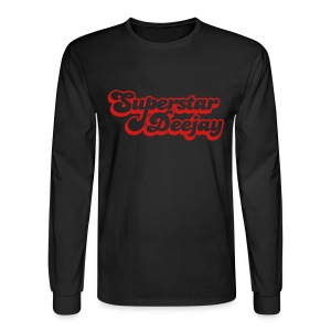 MyKeyMiKe Superstar - Men's Long Sleeve T-Shirt