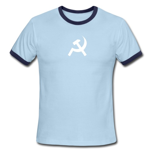 [commie] - Men's Ringer T-Shirt