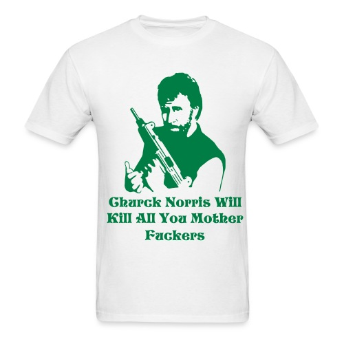 Chuck Will Kill T (White) - Men's T-Shirt