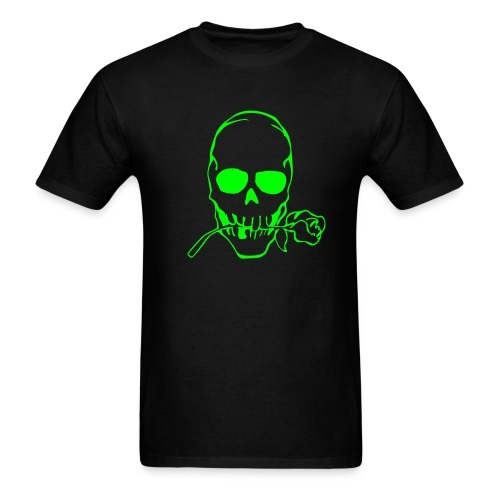 Skull Rose - Men's T-Shirt