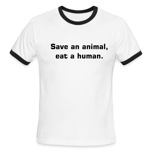Save an animal - Men's Ringer T-Shirt
