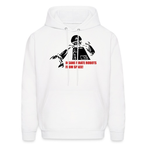 Insane Pirate Robots From Space - Men's Hoodie