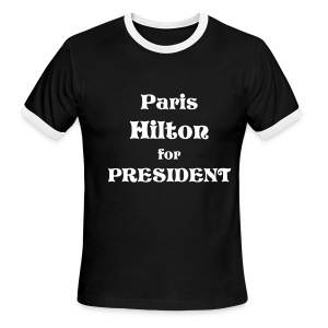 Paris for President - Men's Ringer T-Shirt