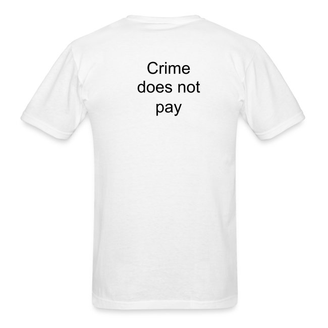 Crime not pay T
