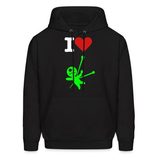 I love voodoo dolls sweatshirt - Men's Hoodie